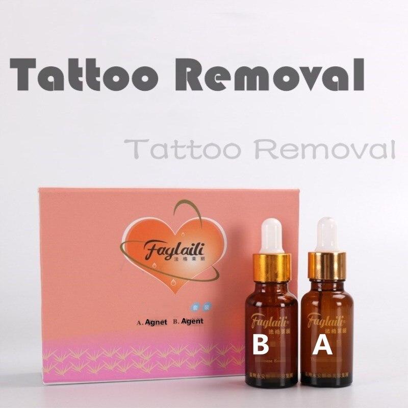 Rimozione Della Pelle Strumento permanente del tatuaggio di trucco del labbro del sopracciglio Tag Tattoo remover Salon Cream gel Casa di Cura di Bellezza Indolore 2 pcs