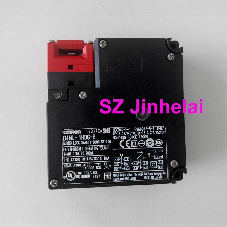 OMRON D4NL-1HDG-B authentique original garde serrure sécurité-porte interrupteur