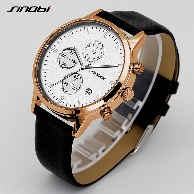 Sinobi hombres de negocios relojes 2017 top brand de lujo famoso - Relojes para hombres