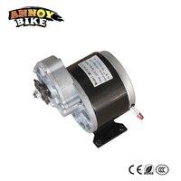 24V 250W Wheel Chair Motor Electric Motor Gear 9Tooth Sprocket Gearbox MY1016Z2 Model Brush DC Gear Motor Low Speed