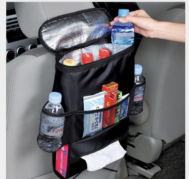 New car ice bag chair bag car multifunctional insulation pocket storage chair hanging bag