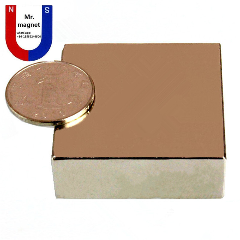 цены 1pc 50x50x20mm Super strong neo neodymium 50mmx50mmx20mm magnet 50x50x20, NdFeB magnet 50*50*20mm, 50mm x 50mm x 20mm magnets