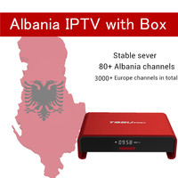 Albanian IPTV Box Hebrew IPTV T95U PRO Android 6 0 TV Box S912 Octa Core Cortex