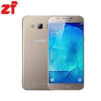 New Unlocked Samsung Galaxy A8 A8000 Điện Thoại Di Động 5.7 '' Octa Lõi 16.0MP Máy Ảnh Android 5.1 2 GB RAM 16 GB ROM điện thoại di động