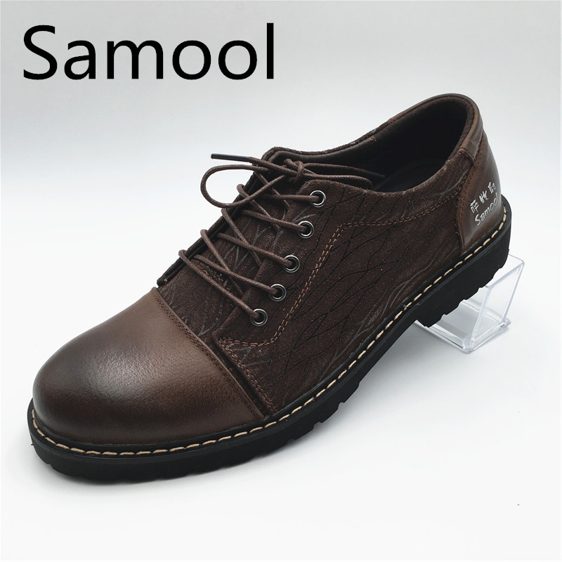 British Style High Quality Fashion Mens Wedding Leather Shoes Low Heels Business Lace-Up Men's Casual Shoes With Pattern QX5 zdrd new fashion genuine leather men business casual shoes british low top lace up suede leather mens shoes brown red men shoes