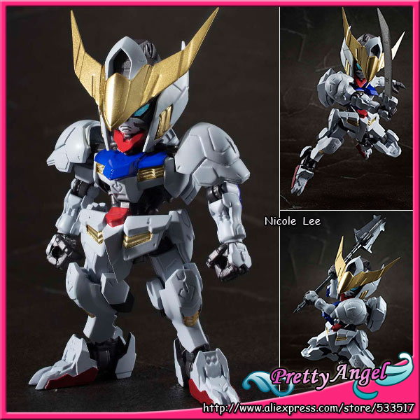 Original Bandai NXEDGE STYLE [MS UNIT] Mobile Suit Gundam: Iron-Blooded Orphans Action Figure - Gundam Barbatos ohs bandai mg 179 1 100 sengoku astray gundam mobile suit assembly model kits