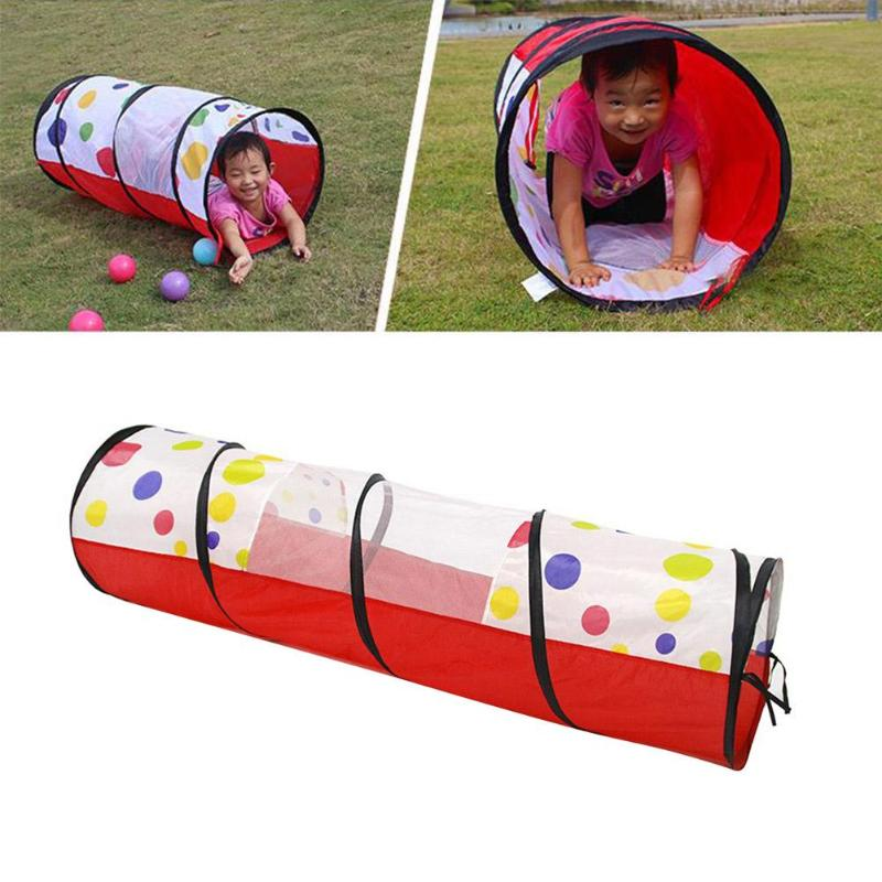 Portable Pool-Tube-Teepee Pop-up Play Tent Children Tunnel Kids Play House Kids Crawling Tunnel Children Outdoor And Indoor Toy