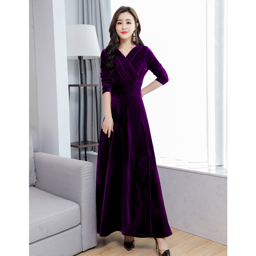 9c9ba34ef0 Autumn Winter Dress Women Long Sleeve Sexy Evening Party Dresses L...