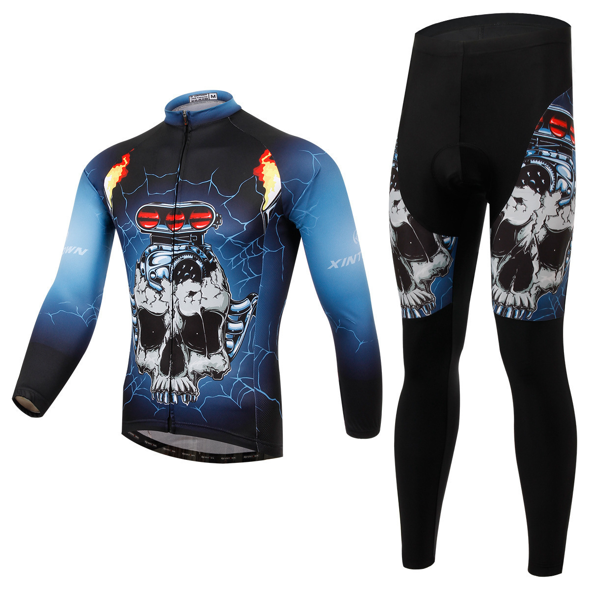 XINTOWN Spring Autumn Long Sleeve Cycling Jersey Bike Set Clothing Outdoor Bicycle Triathlon Wear Mountain Cycle Clothes предметы гигиены bike cycling clothing bicycle wear suit short sleeve jersey