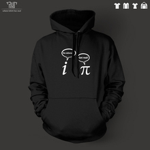Free Shipping be rational be real Geek pullover hoodie hooded sweatershirt 360gsm 82 organic cotton fleece