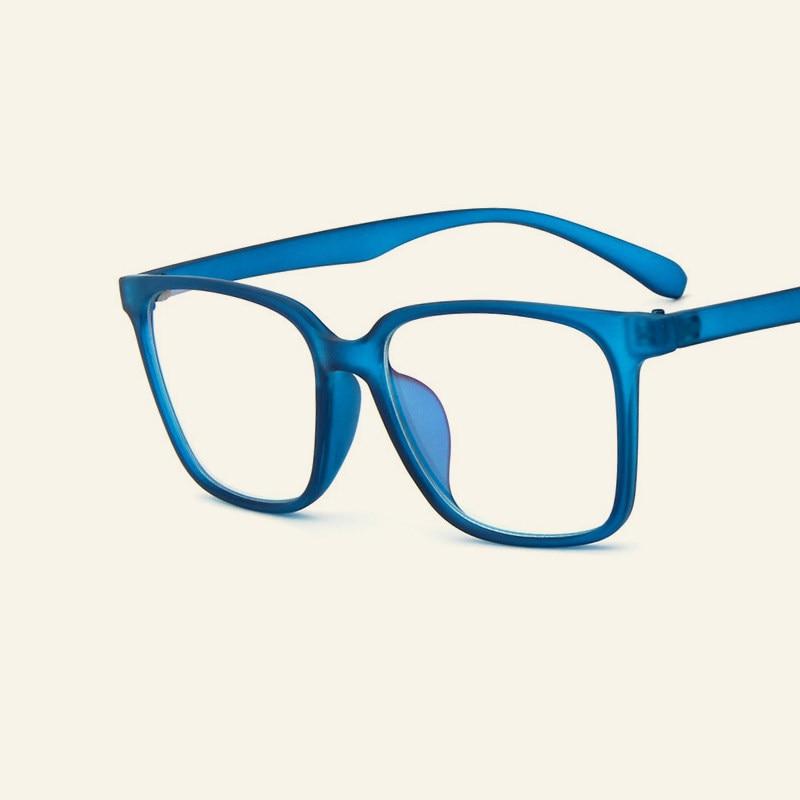 bd50bf847b New Fashion Brand Designer Blue Glasses Frames Men And Women Myopia Eyeglasses  Clear Lens Goggles Students