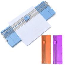 New Paper Trimmer Precision Paper Photo Cutter Scrapbook Trimmer Cutting Mat Machine for Home Office Random Color