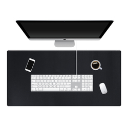 120*60cm Large Office Computer Desk Mat Double sized PU Leather Clipboard Table Keyboard Pad Laptop Full Desk Mat