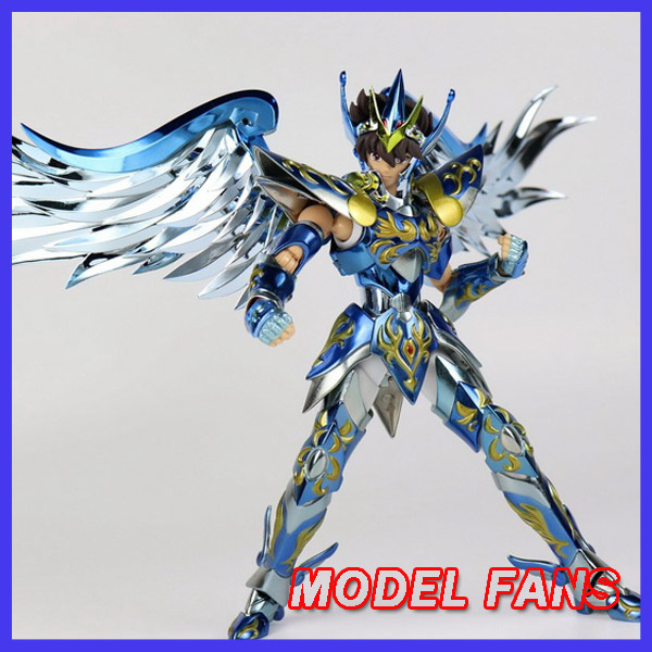 MODELLO FAN INSTOCK GreatToys Grandi giocattoli EX bronzo di Saint Seiya di Pegasus V4 god cloth 10th anniversario Myth Cloth Action Figure