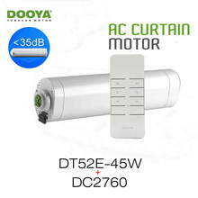 Dooya Home-Automation Open/Close Electric Curtain Motor DT52E 45W+DC2760 2 Channel Emitter WIFI Control by Broadlink Rm pro