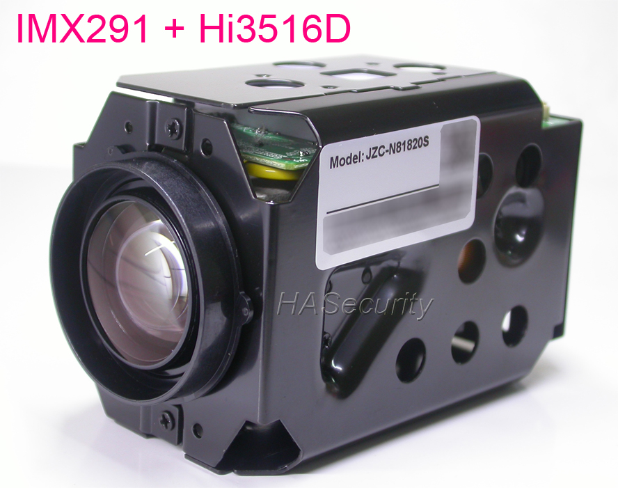 H.265 Super Night Vision 4.7-84.6mm Motorized Zoom & Focal LENs 1/2.8