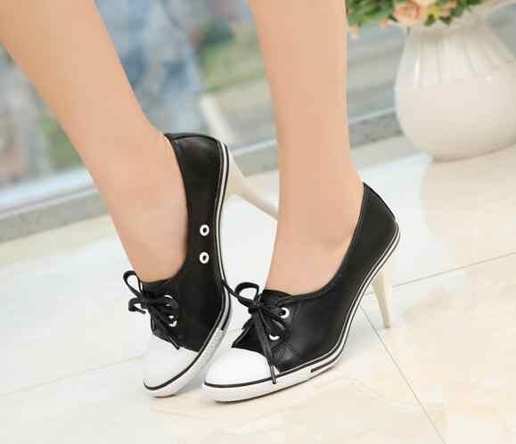 Shoes High heels 6 8cm Female Pumps Low
