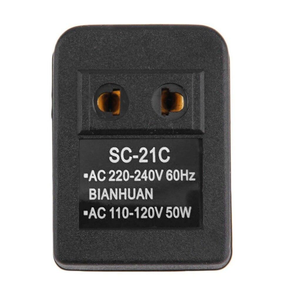 Путешествия заряда Мощность ЕС Plug стены адаптер переменного тока 20 Вт 110 В до 220 В Напряжение трансформатор конвертер адаптер преобразовани...