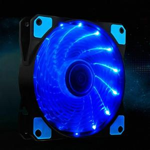 Image 5 - מחשב מחשב 16dB אולטרה שקט 15 נוריות מקרה מאוורר רדיאטור קירור קירור מחשב מאוורר