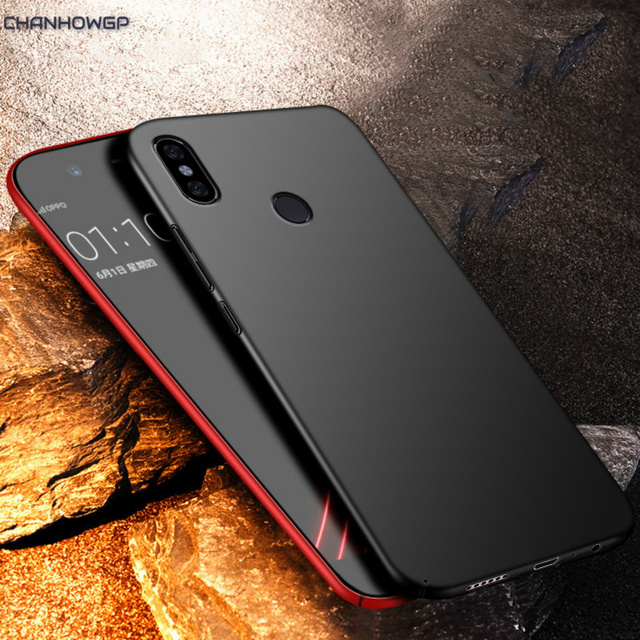 Matte Case for Xiaomi Mi A2 Lite A1 8 SE Redmi 5 Plus Note 5 5A Prime Note 4 Global Full Hard Cover On Redmi 5 5A 4X Pro Cases