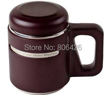 550 мл 304 нержавеющая сталь бутылки щелочной воды с подарком посылка и freshable замены фильтра