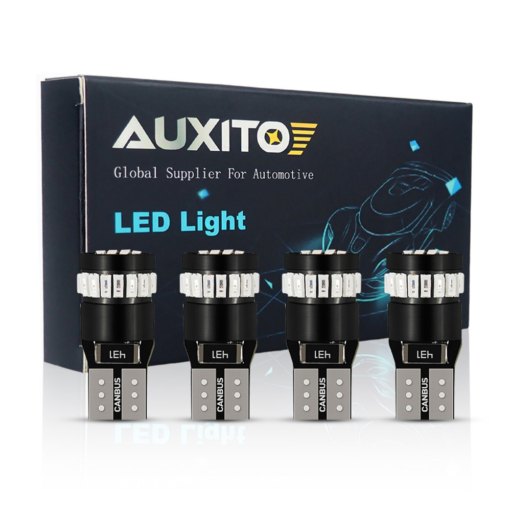 4PCS T10 <font><b>LED</b></font> Canbus <font><b>W5W</b></font> 194 24 SMD 3014 <font><b>LED</b></font> Bulb No OBC Error <font><b>LED</b></font> Clearance Parking Light <font><b>LED</b></font> T10 <font><b>W5W</b></font> Car Signal lamp Whie Blue image