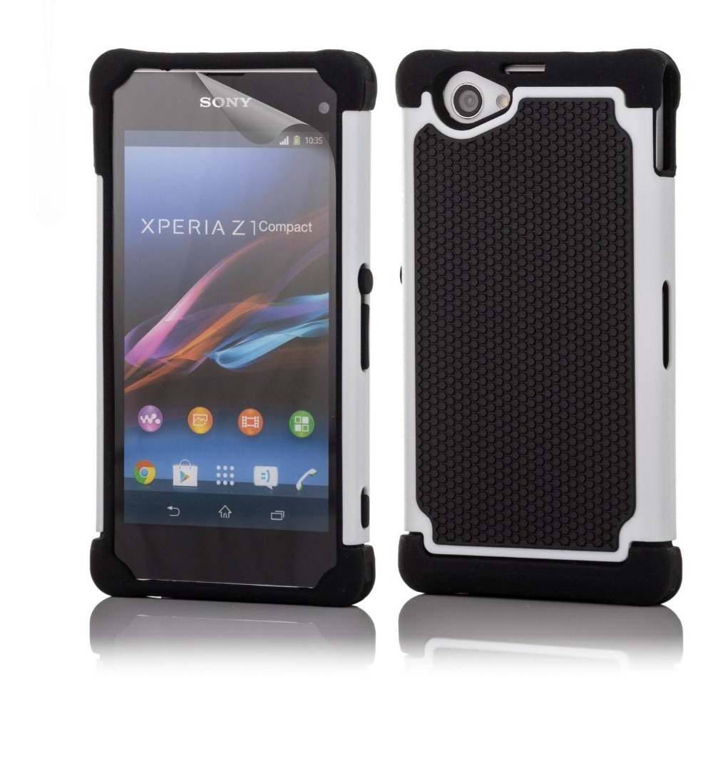 sony xperia z1. aliexpress.com : buy for sony xperia z1 compact case drop protection armor defender hybrid dual cover protective d5503 from