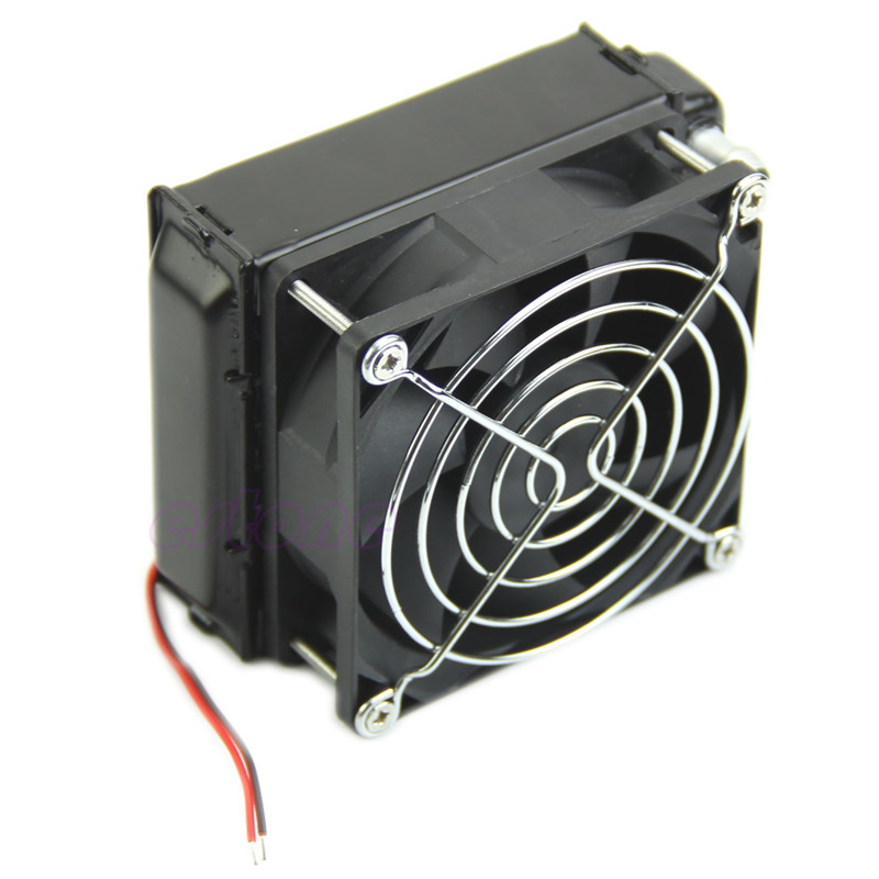 Fins Heatsink 80mm Aluminum Water Cooling Cooler Computer Fans Radiator For CPU LED купить