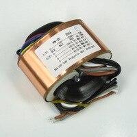 input AC 115V or 230V 30W R CORE transformer OUTPUT AC12V*2 and 9V *2 for DAC headphone preamp audio
