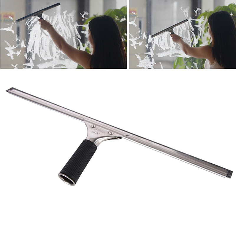 Glass Cleaner Household Window Cleaner Brushes Glass Dust Wash Scraper Squeegee Wiper Brush Home Kitchen Cleaning Tool