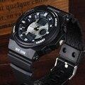 Venta caliente ohsen marca digital del deporte del cuarzo relojes de pulsera para niños mens ejército blanco de moda banda de silicona de buceo relojes reloj masculino