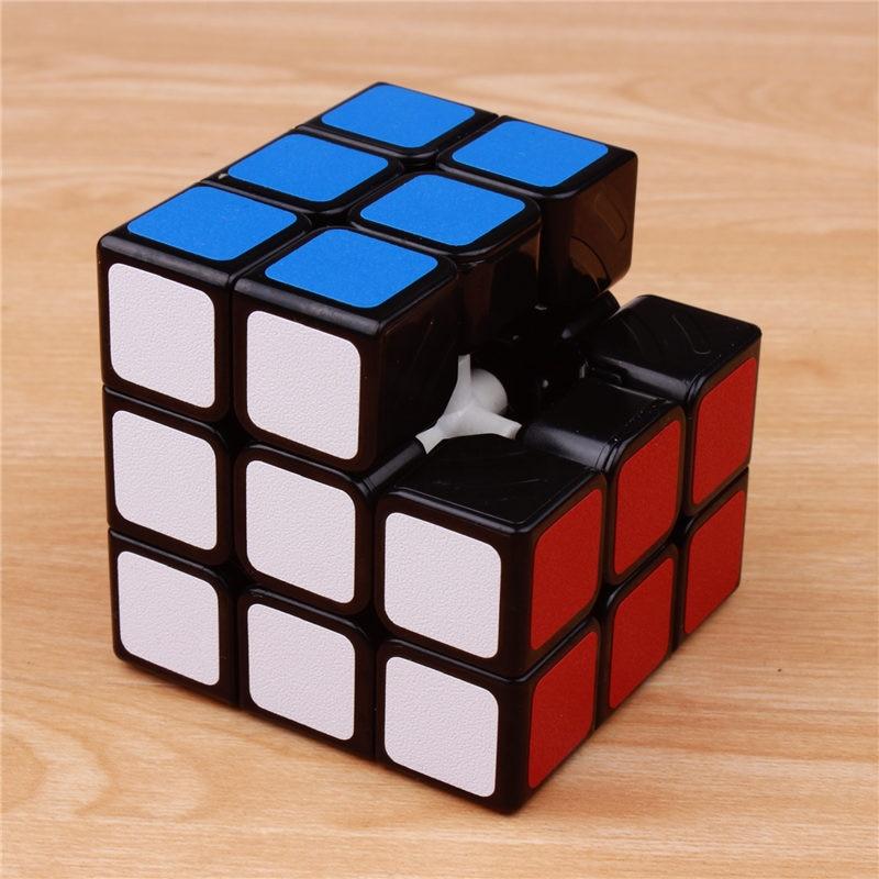 Klassik oyuncaqlar Cube3x3x3 PVC Etiket Bloku Puzzle Sehrli Sürət - Bulmacalar - Fotoqrafiya 4