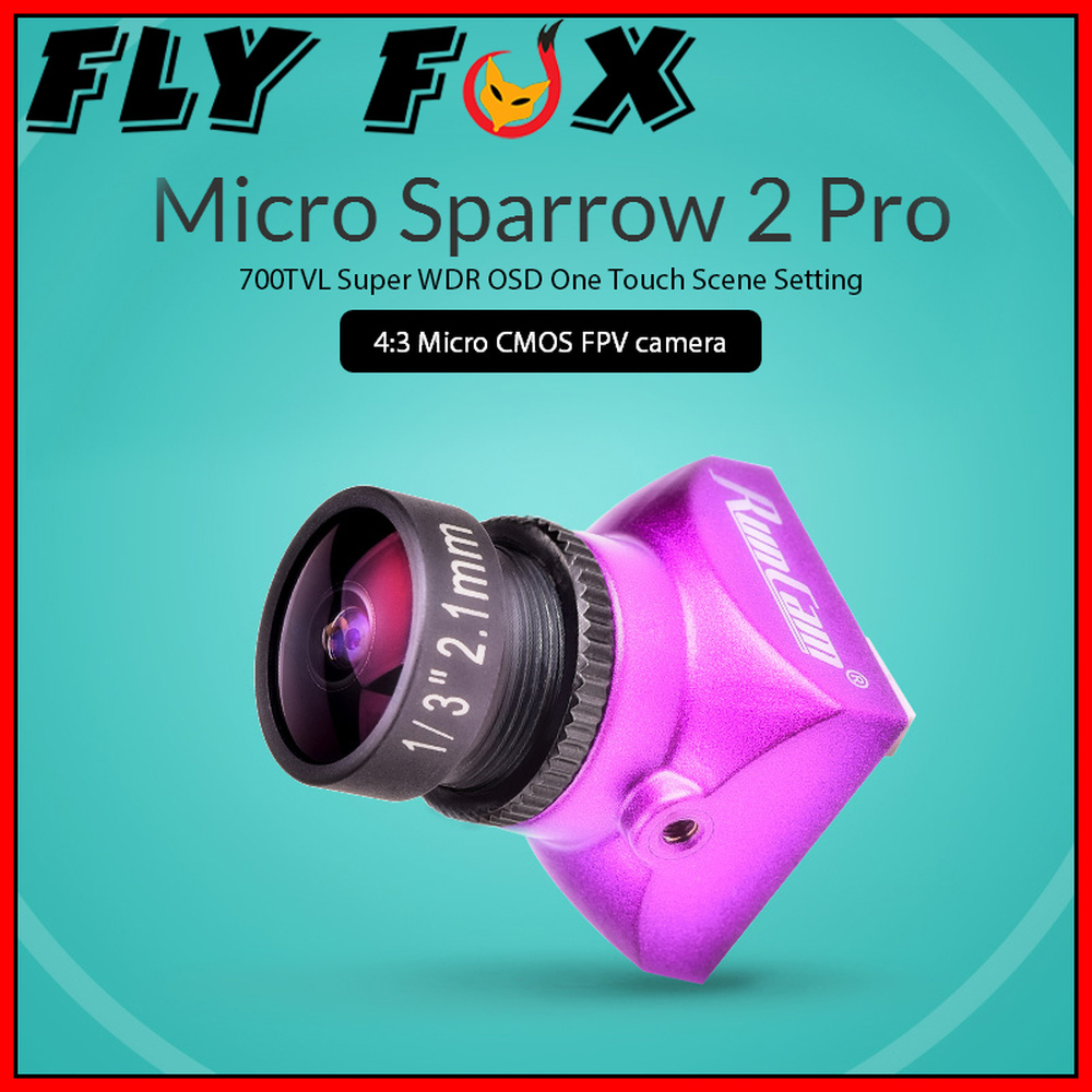 F-Cloud RunCam Micro Sparrow 2 Pro Micro Sparrow 2 Generation Pro Crossing Machine FPV Camera все цены