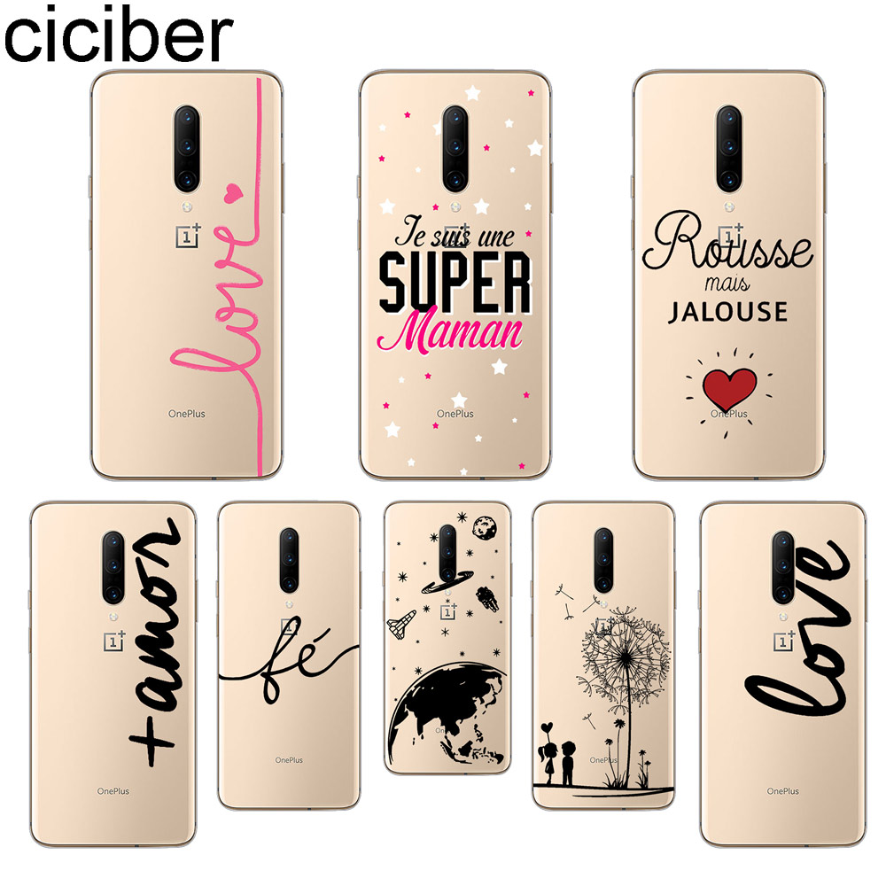 ciciber Love Anchor Phone Case For font b Oneplus b font font b 7 b font