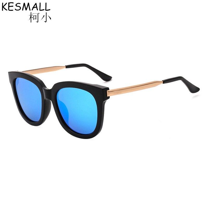 2018 kesmall retro Gafas de sol polarizadas mujeres hombres revestimiento  espejo conducción Sol Gafas moda gafas Accesorios oculos by284 c78aa83bac