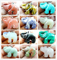 40*27MM Natural stone Elephant mixed agate pendant gem necklace beads R45