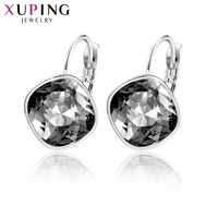 Xuping Newest Jewelry Hoop women's Earrings Crystals from Swarovski Special Popular Vintage Party Gifts M73 /M74 /M75 20354