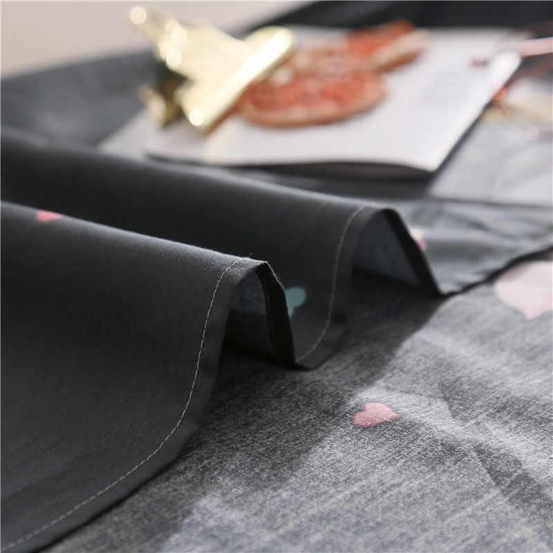 Фламинго пододеяльник кактус пододеяльник мягкий высококачественный черный постельное белье удобный современный стиль Модный домашний текстиль