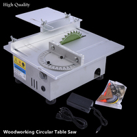 New Miniature High Precision Table Saw DC 24V 7000RPM Cutting Machine DIY Model Saws Precision Carpentry