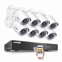 ANNKE HD 8CH 1080P 2 0MP Security Cameras System 8 1080P Outdoor Night Vision CCTV Home