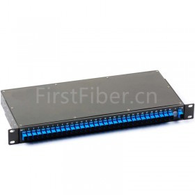 FirstFiber 1 X 8 SC/APC Insertion Type PLC Splitter, ( 1xN, 2xN For Option ) , G657A Fiber, With Strong Outside Package