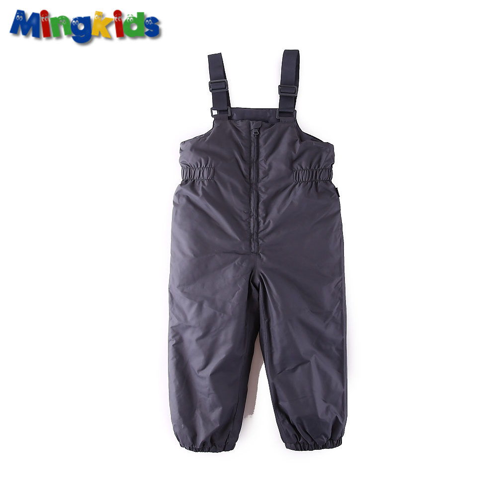 Winter Snow overall for boy seams taped Waterproof Windproof Ski pants light Insulated durable material Spacious loose European