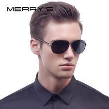 MERRY'S Classic Brand Sunglasses Men HD Polarized Aluminum Driving Sun glasses oculos Male Eyewear Accessories S'8766