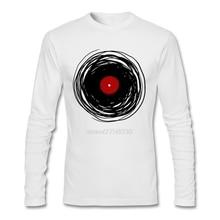 Spinning Vinyl Record men's longsleeve shirt