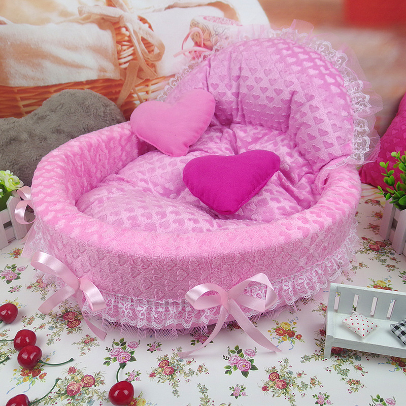 Ny luksus Hund Hus Kennel Nest Mat Pet Hundesæk Hus Kat Bed For Små Mellemhunde Pet Bed Sofa Produkt hundesofa teddy hus
