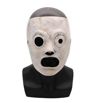 Halloween Slipknot máscara Corey Taylor máscara de látex Cosplay película de TV Slipknot máscara fiesta de Halloween accesorios para Cosplay