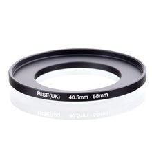 Original AUFSTIEG (UK) 40,5mm 58mm 40,5 58mm 40,5 58 Step Up Ring Filter Adapter schwarz