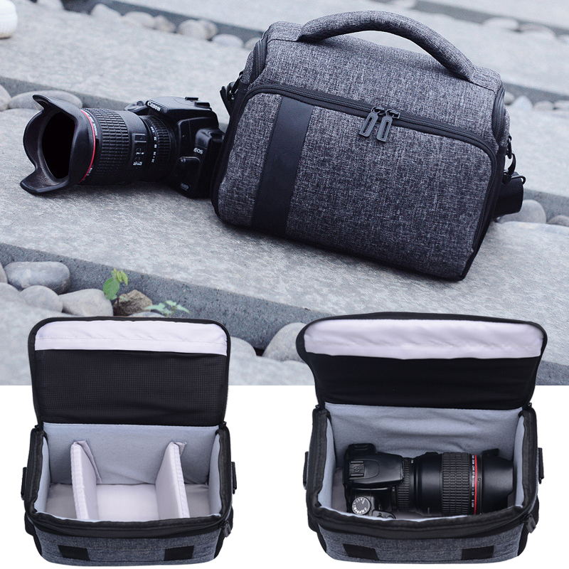 Camera Bag Case for Nikon D7200 D5600 D5500 D5300 D3400 D3300 D3200 D3100 D5100 D5200 D70 D90 D80 D7000 D7100 + Tracking Number