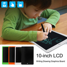 Cheap price 10-inch LCD eWriter Paperless Memo Pad Tablet Writing Drawing Graphics Board Hot Sale Leaning Educational Toys #JD828