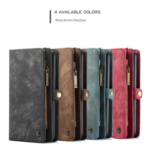 Image 5 - For Samsung Galaxy A20 A30 A50 Case Luxury Genuine Flip Wallet Leather Cover Mobile Phone Back Case For Samsung A40 A70 A50